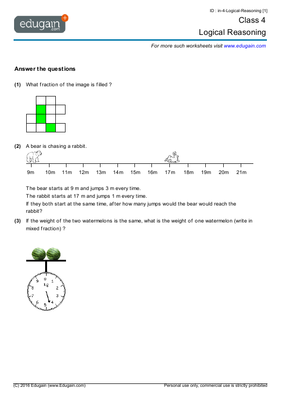math worksheet : 5th grade math logical reasoning worksheets  worksheets for kids  : Math Logic Worksheets